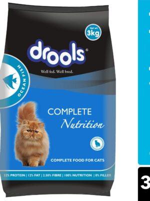 Drools Adult Ocean Fish Dry Cat Food – 1.2kg to 7kg