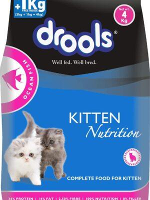 Drools Kitten Ocean Fish Dry Cat Food – 1.2kg & 3kg