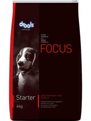 Drools Focus Starter Dry Dog Food – 1.2kg to 15kg