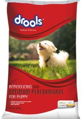 Drools Optimum Performance Puppy Chicken Dry Dog Food – 20kg