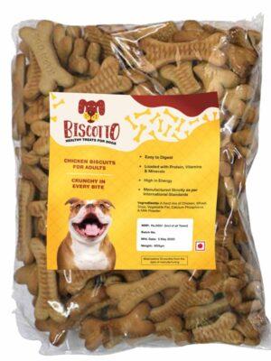 Dog Adult Biscuits Bone Shaped Non-Veg Dog Treat – 900 gm