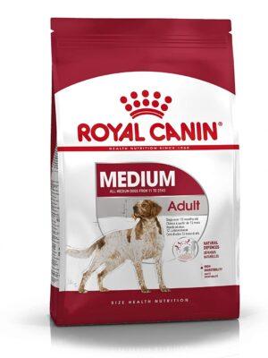 Royal Canin Medium Adult Dry Dog food – 1kg to 15kg