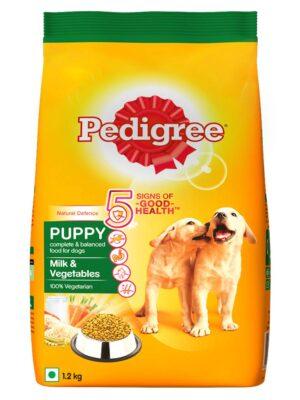 Pedigree Puppy Milk and Vegetable Dry Dog Food – 1.2kg