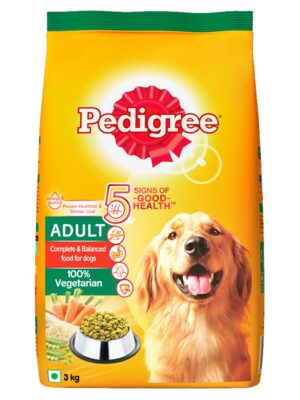Pedigree Adult Vegetarian Dry Dog Food – 1.2kg to 3kg
