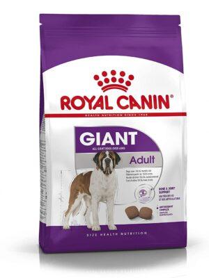 Royal Canin Giant Adult Dry Dog Food – 4kg & 15kg