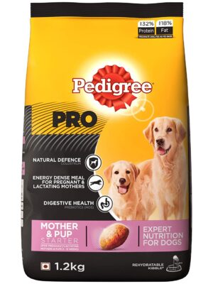 Pedigree PRO Expert Nutrition Lactating/Pregnant Mother & Pup Dry Dog Food – 1.2kg to 10kg
