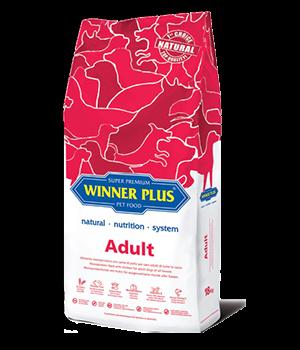 Winner Plus Adult Dog Food 3kg & 18kg